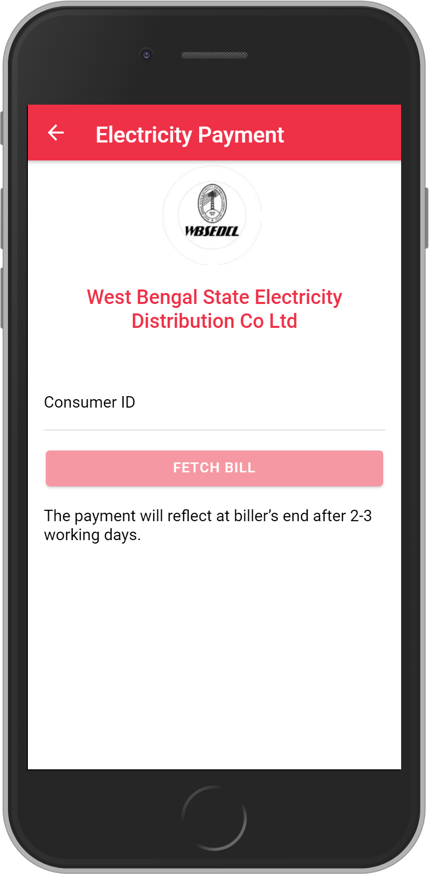 Get UNLIMITED <b>0.1%</b> CASHBACK on WBSEDCL Bill Payment.