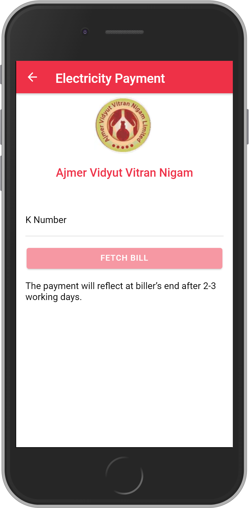 Get UNLIMITED <b>0.1%</b> CASHBACK on Ajmer Vidyut Vitran Nigam Bill Payment.