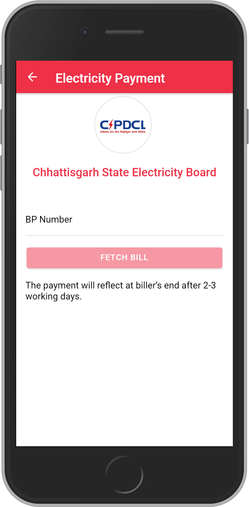 Get UNLIMITED <b>0.1%</b> CASHBACK on Chhattisgarh State Electricity Board Bill Payment.