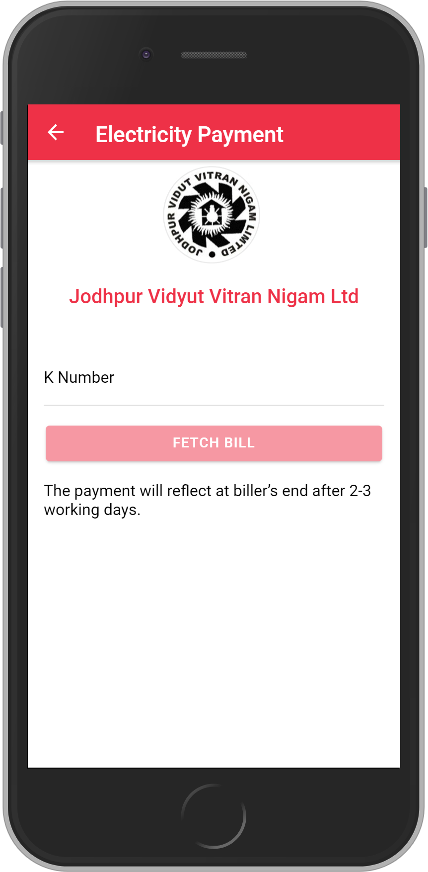 Get UNLIMITED <b>0.1%</b> CASHBACK on Jodhpur Vidyut Vitran Nigam Bill Payment.