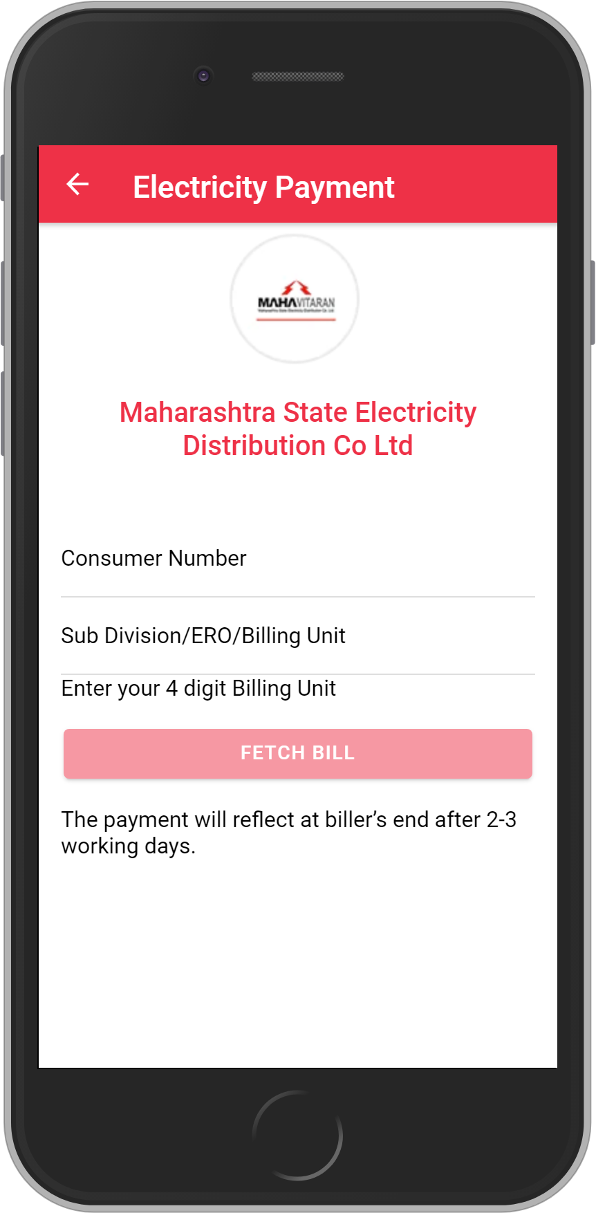 Get UNLIMITED <b>0.1%</b> CASHBACK on Maharashtra State Electricity Distribution Company Limited Bill Payment.
