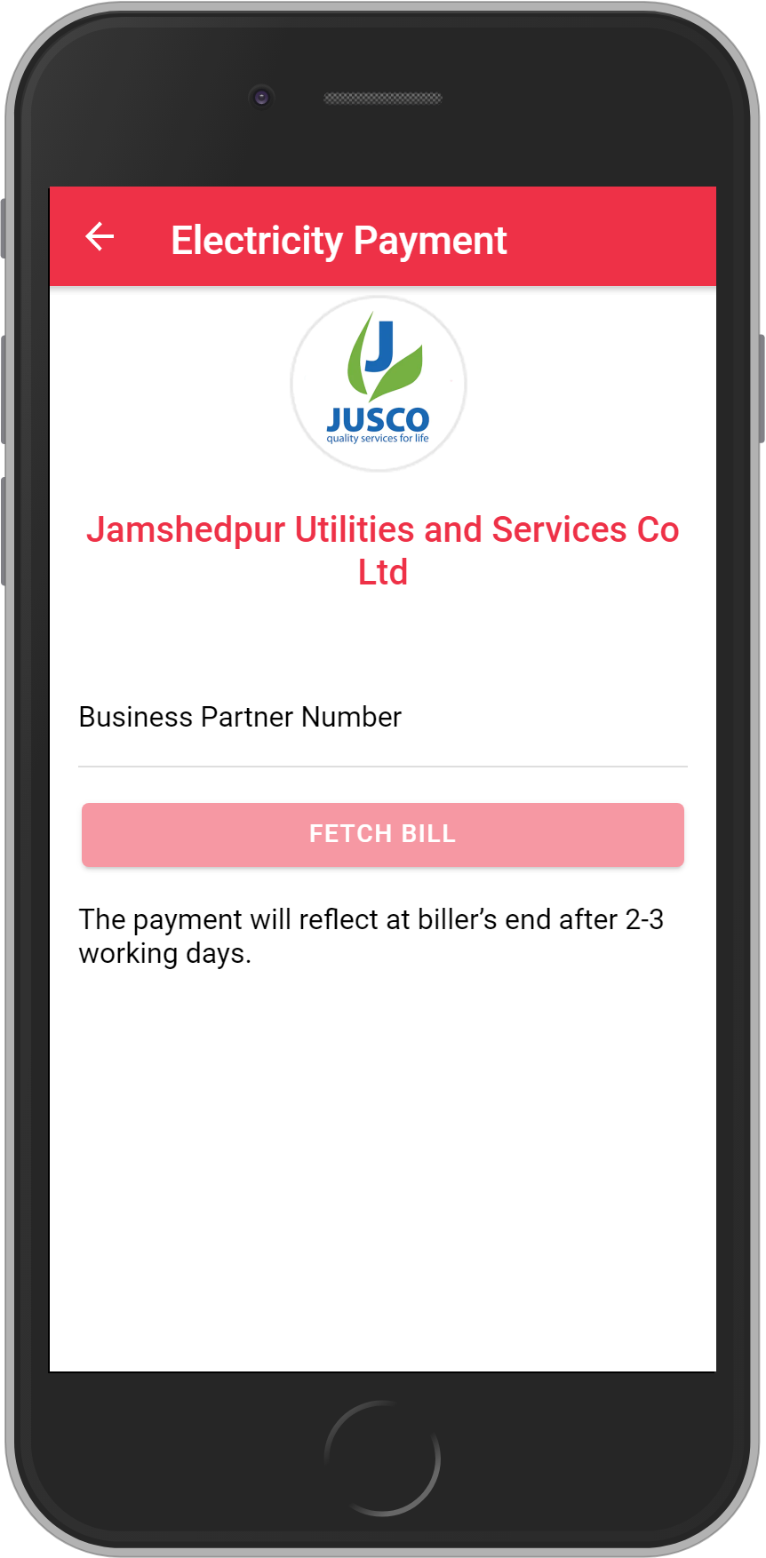 Get UNLIMITED <b>0.1%</b> CASHBACK on Jamshedpur Utilities & Services Company Bill Payment.