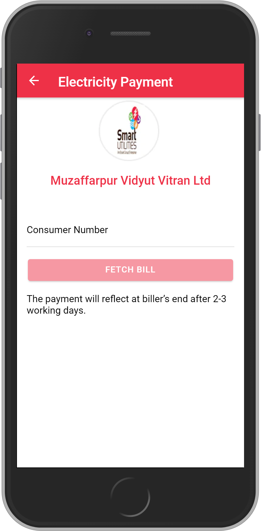 Get UNLIMITED <b>0.1%</b> CASHBACK on Muzaffarpur Vidyut Vitran Ltd Bill Payment.