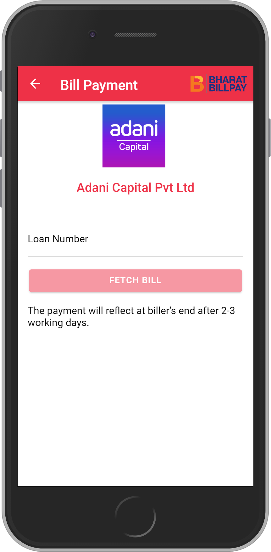 Get UNLIMITED <b>0.1%</b> CASHBACK on Adani Capital Pvt Ltd Loan Payment.