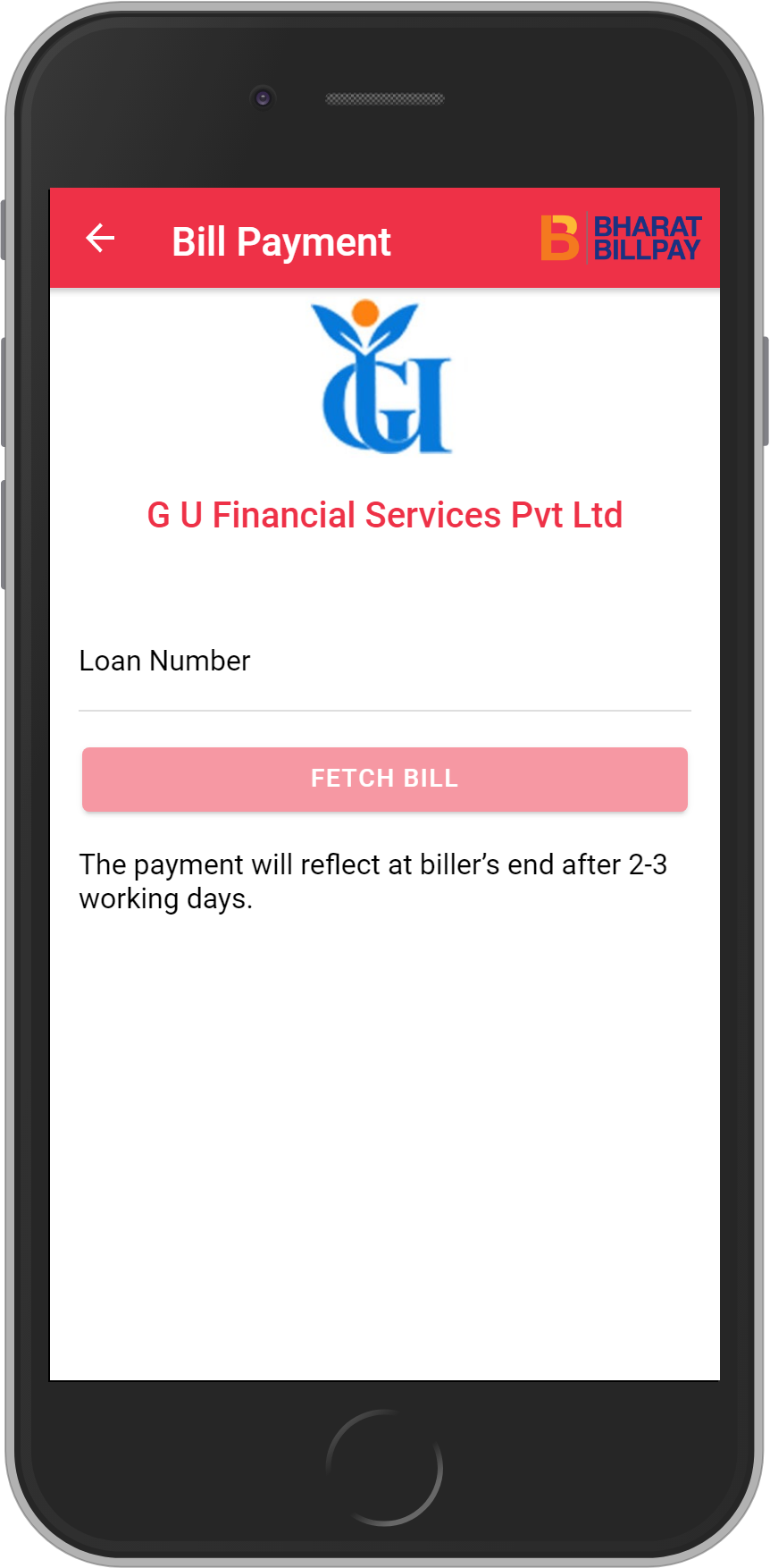 Get UNLIMITED <b>0.1%</b> CASHBACK on G U Financial Services Pvt Ltd Loan Payment.