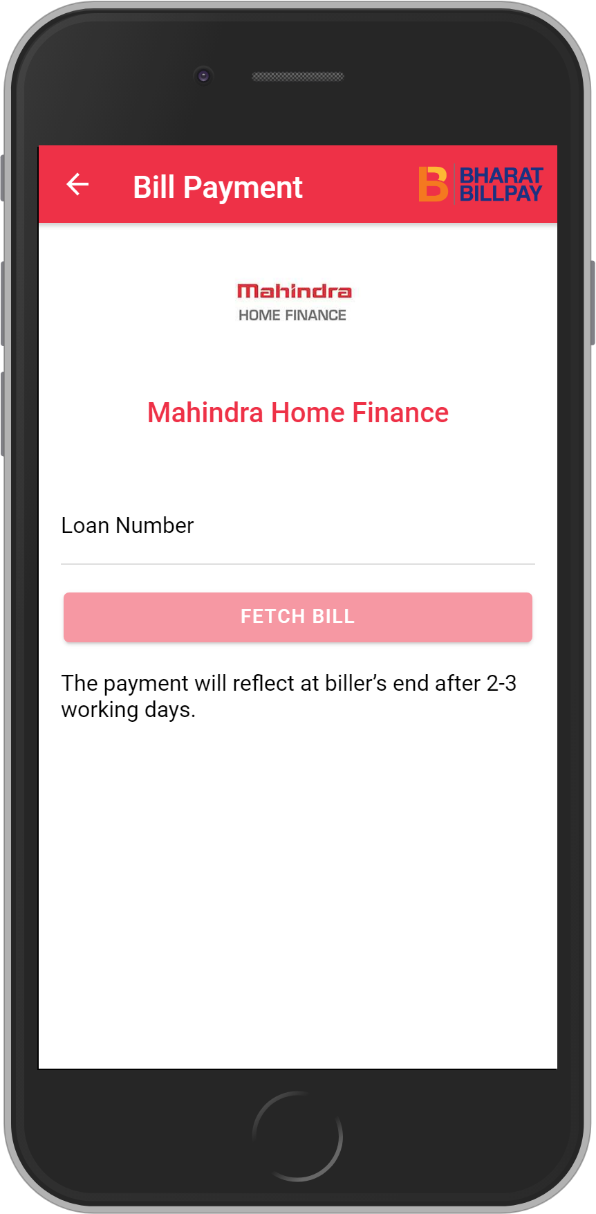 Get UNLIMITED <b>0.1%</b> CASHBACK on Mahindra Home Finance Loan Payment.