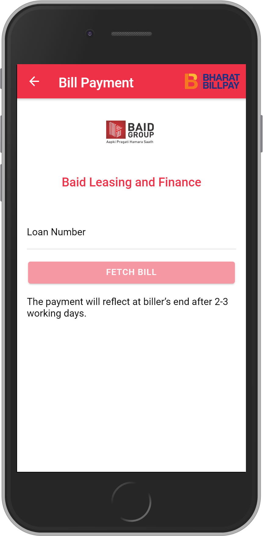Get UNLIMITED <b>0.1%</b> CASHBACK on Baid Leasing and Finance Loan Payment.