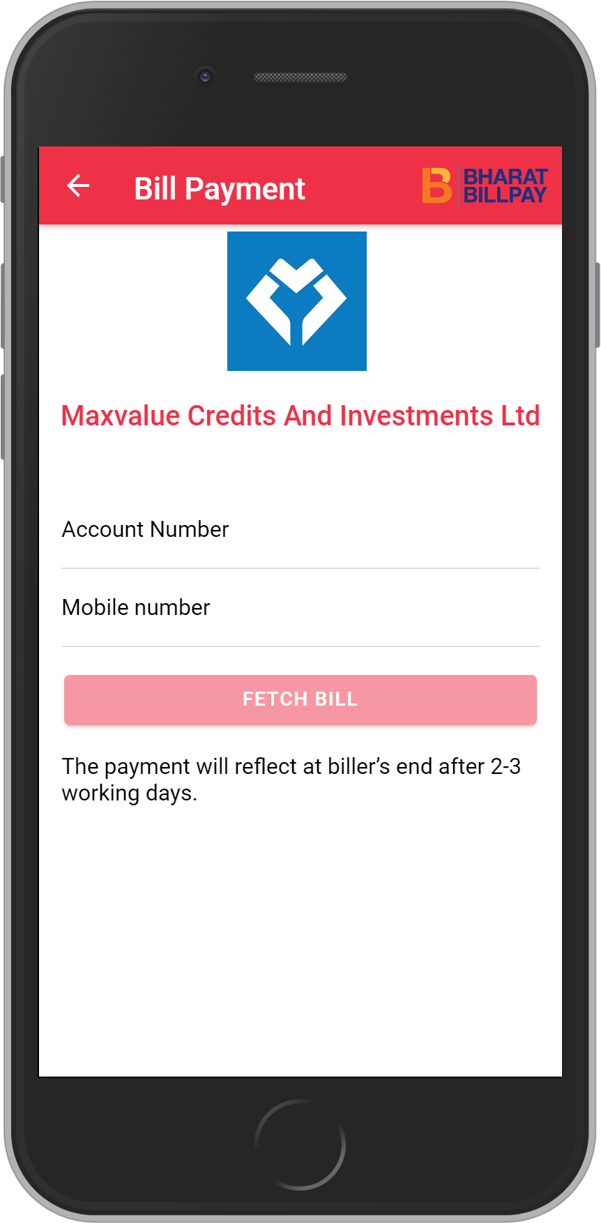 Get UNLIMITED <b>0.1%</b> CASHBACK on Maxvalue Credits And Investments Ltd  Loan Payment.