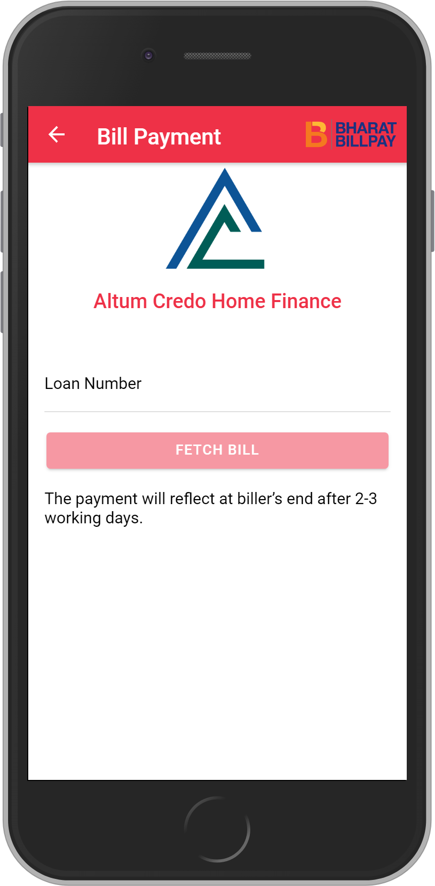 Get UNLIMITED <b>0.1%</b> CASHBACK on Altum Credo Home Finance Loan Payment.