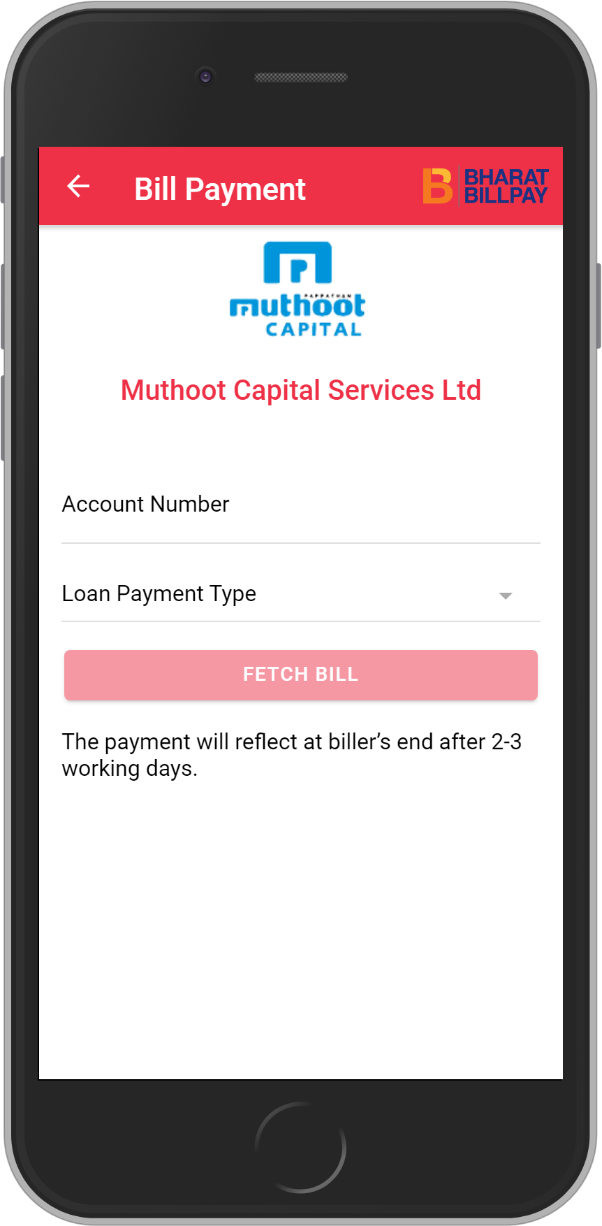 Get UNLIMITED <b>0.1%</b> CASHBACK on Muthoot Capital Services Ltd Loan Payment.
