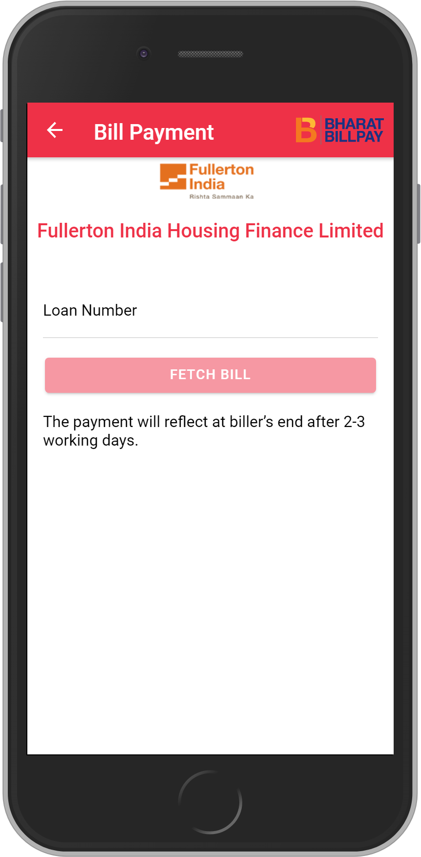 Get UNLIMITED <b>0.1%</b> CASHBACK on Fullerton India Housing Finance Limited Loan Payment.