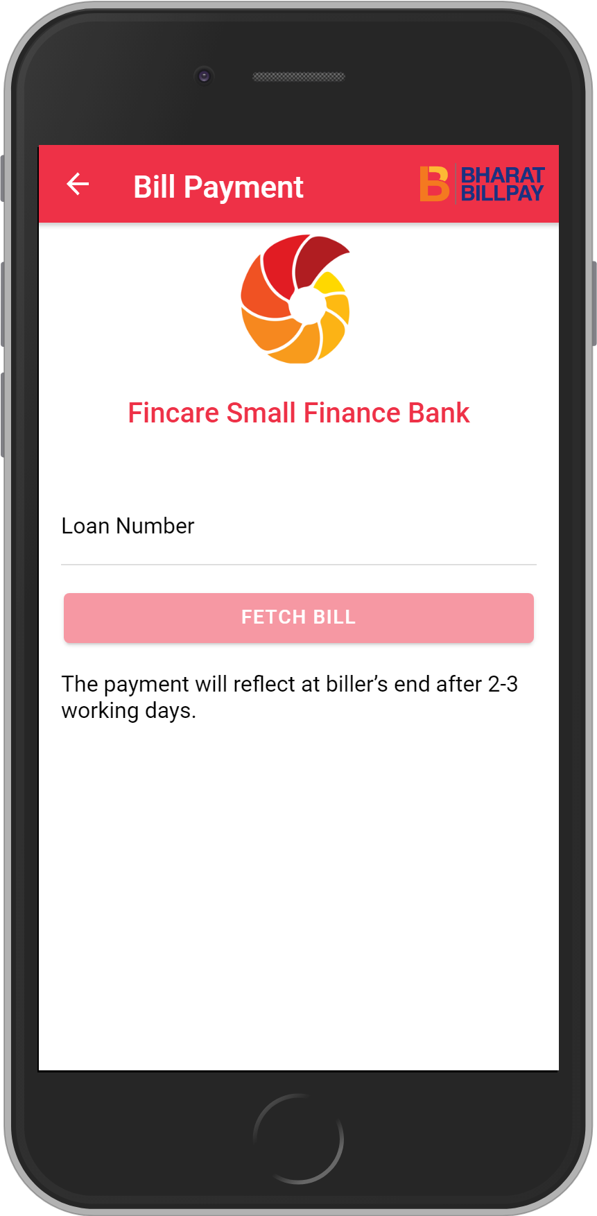 Get UNLIMITED <b>0.1%</b> CASHBACK on Fincare Small Finance Bank Loan Payment.
