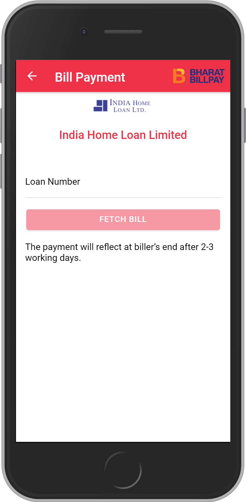 Get UNLIMITED <b>0.1%</b> CASHBACK on India Home Loan Limited Loan Payment.