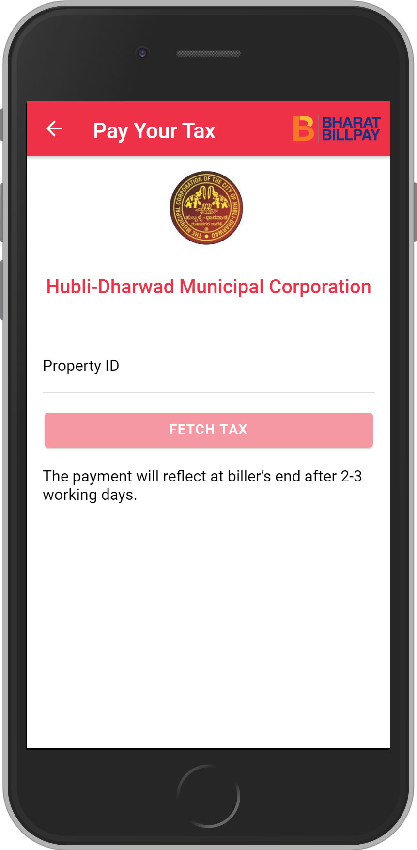 Get UNLIMITED <b>0.1%</b> CASHBACK on Hubli-Dharwad Municipal Corporation Recharges.