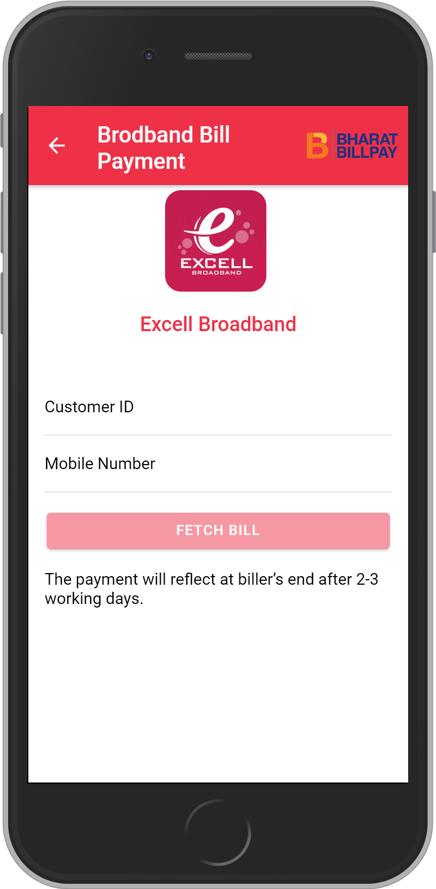 Get UNLIMITED <b>0.1%</b> CASHBACK on Excell Broadband Bill Payment.